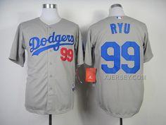 http://www.xjersey.com/dodgers-99-ryu-grey-2014-jerseys.html DODGERS 99 RYU GREY 2014 JERSEYS Only $35.00 , Free Shipping!