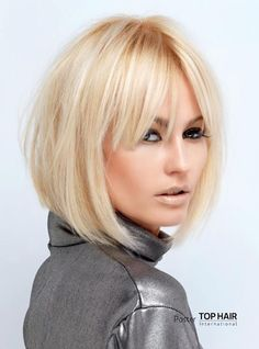 Trendy hairstyles with bangs short round faces Ideas Round Face Haircuts, Haircuts For Fine Hair, Haircuts With Bangs, Long Bob Hairstyles, Hairstyles For Round Faces, Trendy Hairstyles, Blonde Hairstyles, Bob Haircuts, Haircut Bob