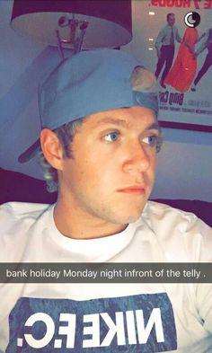 Niall horan snapchat 2016