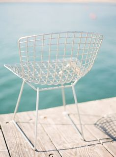 Bertoia in white