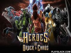 Heroes Of Order & Chaos  Android Game - playslack.com , collect your associates, change your Heroes and wipe out the foe base off the face of the earth in this non-stative sorb game! join with your allies and battle on a multiplayer territory! appoint one from 30 exclusive heroes accessible: beginning with seductive illusionists and to violent knights! enhance your things and abilities rescuing  the developments after the game and resistance your foes through the soil! The fights are…