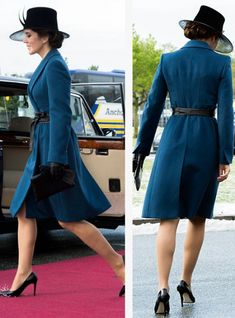 GALLERI: kronprinsesse Mary - 15 pletskud i blåt | BILLED-BLADET