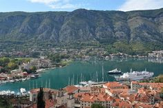 View over Kotor. Beautiful Places To Visit, Beautiful World, Amazing Places, Places Around The World, Around The Worlds, Montenegro Kotor, City Landscape, Travel Images, Amazing Architecture