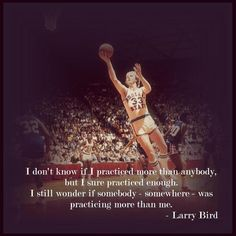larry bird on dedication