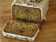Chamomile Tea Cake with Honey Icing