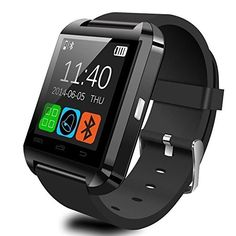 U8 Smartwatch UWatch Bluetooth Smart Watch Fit for Samsung Galaxy S4S5S6S7 Edge Note 345 HTC Nexus Sony LG Huawei Android Smartphones Black >>> Want to know more, click on the image.