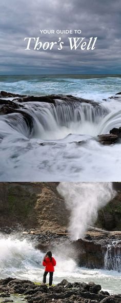 Your Guide to Thor's Well Cape Perpetua Scenic Area Oregon Coast - Essential Tips for Your Visit // localadventurer.com