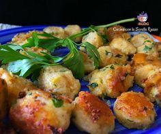 Palline di patate al prezzemolo e spezie