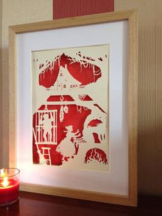 Hansel and Gretel JPEG FIle - cut your own papercut - perfect handmade gift! on Etsy, $37.60 CAD
