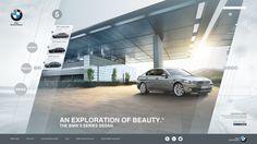 BMW International Website Concept by The Clokkworker, via Behance