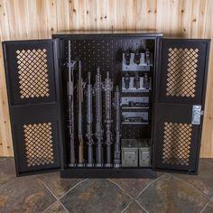 """Weapon Storage Cabinet, 50"""" X 34"""" X 15"""""""