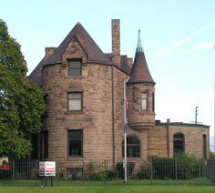 historic michigan photos | Description Wells House Detroit MI.jpg