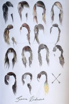 Hair. I think I like number 3 the best!