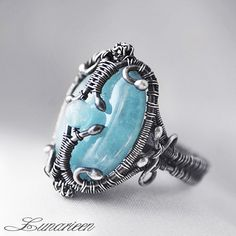 ISHTAR by LUNARIEEN gemstone ring. For more follow www.pinterest.com/ninayay and stay positively #pinspired #pinspire @ninayay