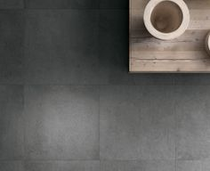Industrial Style With A Polished Concrete Floor Tile Grey Dark