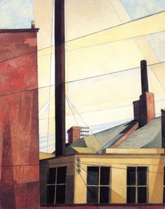 Charles Demuth:  From the Garden of the Château (1921-1925) via The Athenaeum