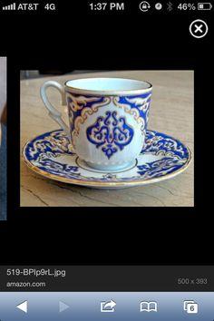 Turkish coffee cup!