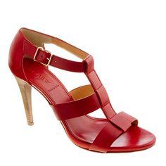 Olympia leather heels