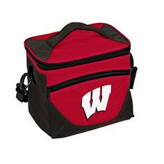 Logo Brand Wisconsin Badgers Halftime Lunch Cooler, Multicolor