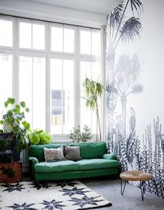 decorating with green / sfgirlbybay
