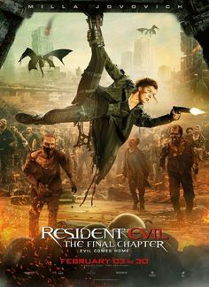 RESIDENT EVIL 6 THE FINAL CHAPTER (2017)