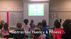 Subtraction Fluency & Fitness - Students will learn their basic subtraction facts while getting out the wiggles with Fluency & Fitness. This is a great brain break to use without losing instructional time!
