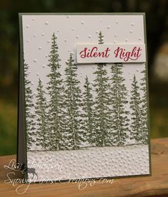 Silent Night by Alcojo94 - Cards and Paper Crafts at Splitcoaststampers