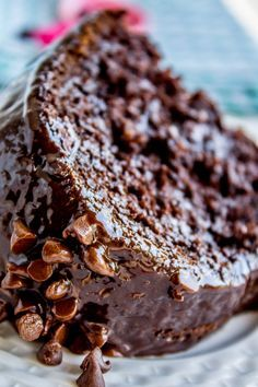 Chocolate Cake Mix Recipes, Death By Chocolate Cake, Chocolate Bundt Cake, Homemade Chocolate, Chocolate Desserts, Chocolate Chocolate, Easy Desserts, Delicious Desserts, Dessert Recipes