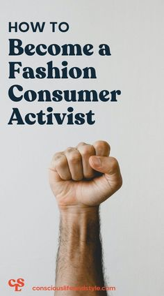 Whether you've been a conscious consumer for years and are looking to take the next step in your journey or you've just learned about fashion's harms and are ready to take big action right away, this guide will walk you through how to become a fashion activist or consumer activist. #fashionactivism #activisminfashion #howtobecomeanactivist #fastfashion Fast Fashion, Ethical Fashion, Consciousness, How To Become, Journey, Action, Lifestyle, Big, Knowledge