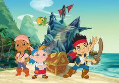 Jake en de Nooitgedacht piraten, verkrijgbaar in 208x146 en 312x219