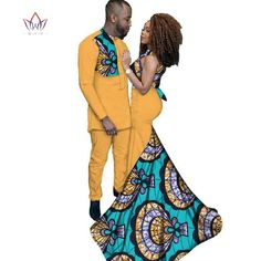 Elegant Fashion African Clothing prom Dresses for Women/ Prints Men's Suit for Couples… – African Fashion Dresses - 2019 Trends Couples African Outfits, African Dresses For Kids, African Attire, African Wear, African Clothes, African Style, African American Fashion, African Print Fashion, Africa Fashion