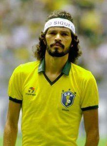 Sócrates nacido en Belém el 19 de febrero de 1954. Se lo conoce como el Doctor