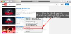 Download & converting YouTube videos to Mac  is free and easy. You can simply copy the URL ... and done :) For more info >> http://softorino.com/youtube-converter/how-to-download-convert-youtube-videos-to-mac-for-free #videos #Mac #free