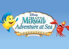 A Disney Cruise! Enter the Little Mermaid Adventure at Sea Sweepstakes!