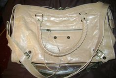 SALE Large peachy beige handbag plus size by SkyAccessoryBoutique, $17.50