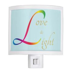 #Love and Light gold rainbow sky blue - #gold #glitter #gifts