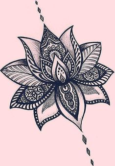 Ideas Tattoo Lotus Flower Back Mandalas For 2019 This image has get. Lotus Mandala Design, Lotus Mandala Tattoo, Lotus Flower Tattoo Design, Mini Tattoos, Flower Tattoos, Small Tattoos, Tattoo Wien, Cover Up Tattoos For Women, Brust Tattoo
