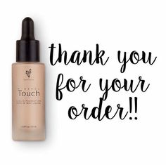 Thanks for ordering Younique foundation