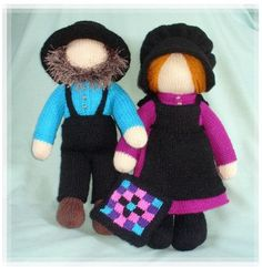 amish shaker faceless dolls plain folk PDF email by BunnyFriends Tea Cosy Knitting Pattern, Tea Cosy Pattern, Knitting Patterns, Knitting Projects, Sewing Projects, Crochet Patterns, Knitted Dolls, Crochet Dolls, Amish Dolls