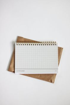 the letter ledger 2.0 by paper & type, available thru west heritage.