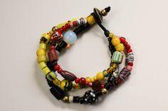 Vintage trade bead bracelet by DesertRavenArt on Etsy, $65.00