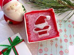 Santa Brooch Bead Embroidered Brooch Christmas Brooch