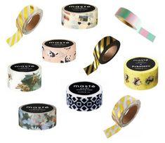 De allerleukste masking tapes vind je bij www.masking-tapes.nl Masking Tape, Washi Tape, Dog Bowls, Om, Duct Tape
