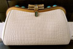 MILCH made in ITALY vintage jeweled stones real by yummiesmummy, $379.99