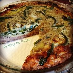 Italian Sausage Crusted Quiche | fastPaleo Primal and Paleo Diet Recipes