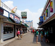Ocean City, MD. Fun place to live for a summer but only 1 summer. I belong in the South.