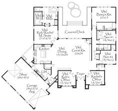 Casas on la hacienda house plan