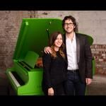 Tiffany Napper @tiffanynapper 3h Man I love photo shoot days. And NYC. #tbt with @Josh Groban for @Yamaha Entertainment Group All Access magazine. pic....