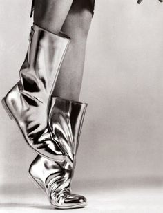 Silver Boots #silver