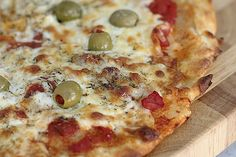 Massa de Pizza com 2 Ingredientes
